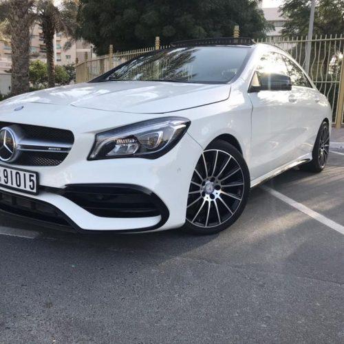 Mercedes Benz CLA 2018