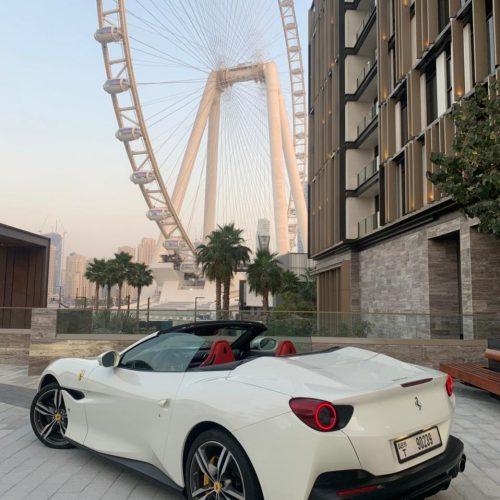 Ferrari Portofino 2019 White