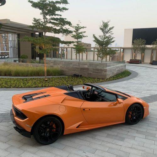 Lamborghini Huracan Spyder 2019